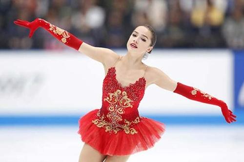 アリーナザギトワ 平昌オリンピック衣装がかわいい!ジュニア時代との違いは? アリーナ・ザギトワ