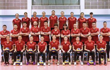 中国 バレーボール 女子