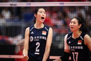 バレーボール 中国