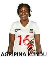 ケニア 女子 バレー