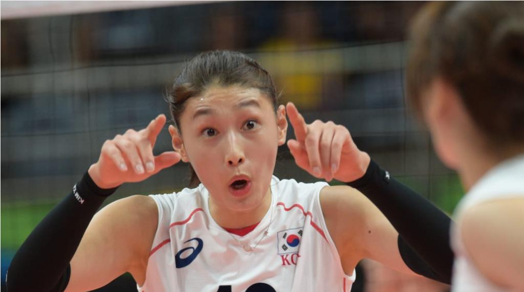 韓国 女子 バレーボール